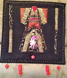 Kimono Paper piecing pattern (my original design)