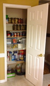 Pantry today!