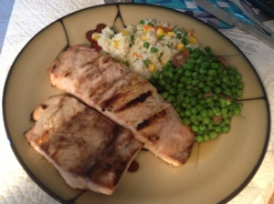 Grilled Marinaded Amberjack
