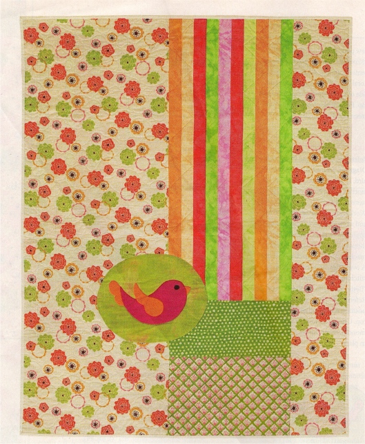 Chirp Chirp (as seen in Quilts & more, Spring 2010)