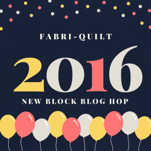 2016 Fabri-Quilt New Block Blog Hop