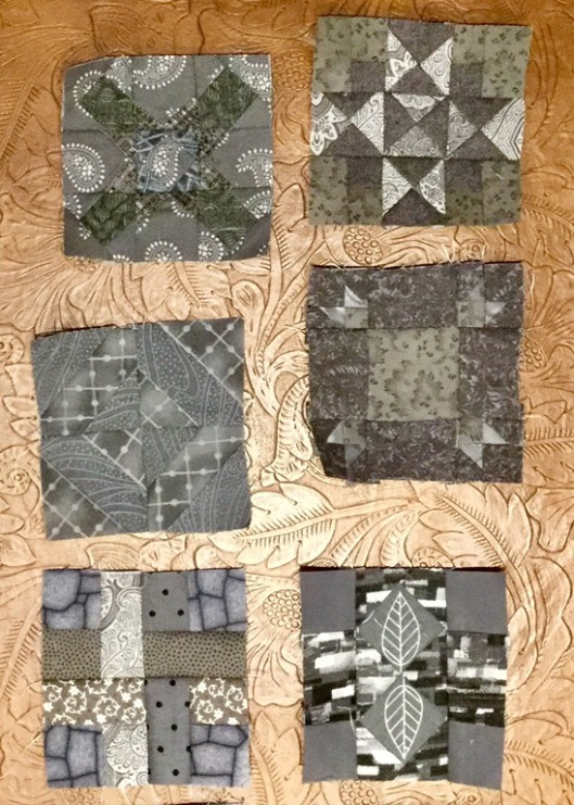 "3 1/2"" blocks for my 365-Challenge Quilt"